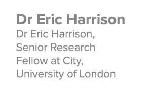 Dr Eric Harrison