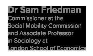 Dr Sam Friedman